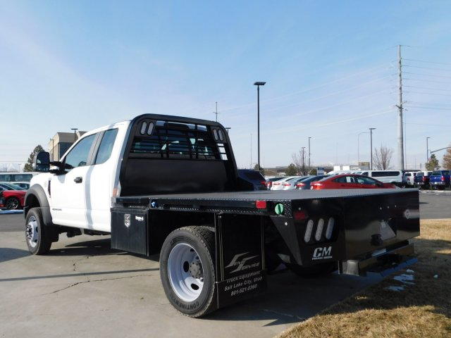 2019 F-550 Super Cab DRW 4x4,  CM Truck Beds Platform Body #1FD1845 - photo 5