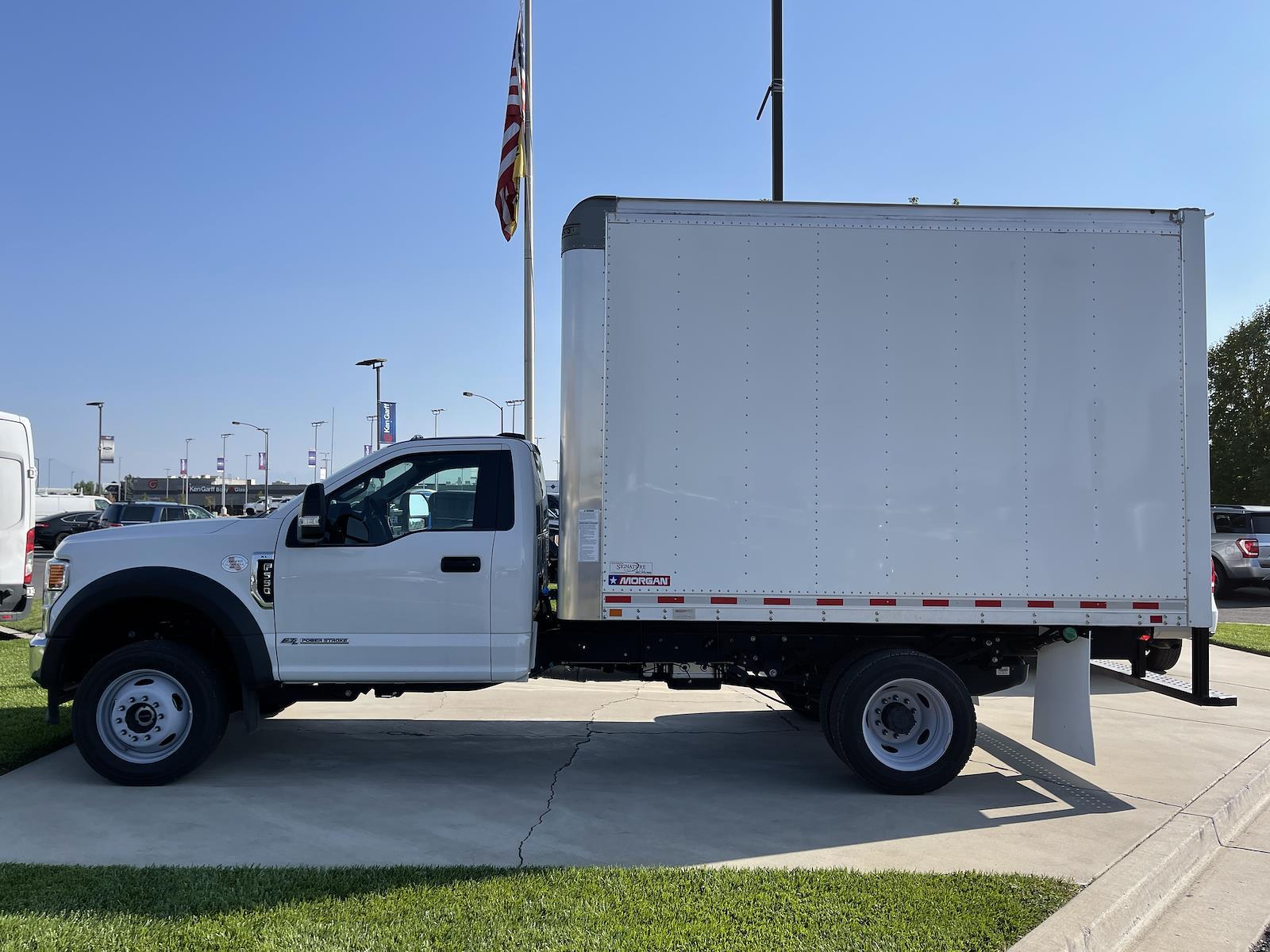 2020 F-550 Regular Cab DRW 4x4,  Morgan Truck Body Dry Freight #1FD2211 - photo 2
