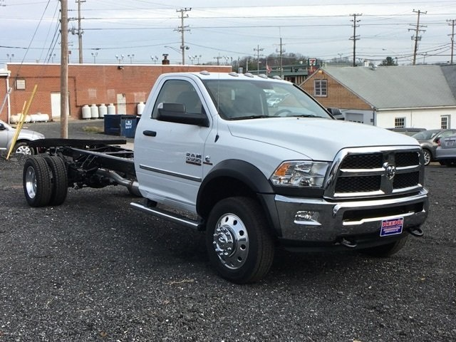 2017 Ram 5500 Regular Cab DRW 4x4, Cab Chassis #22673 - photo 4