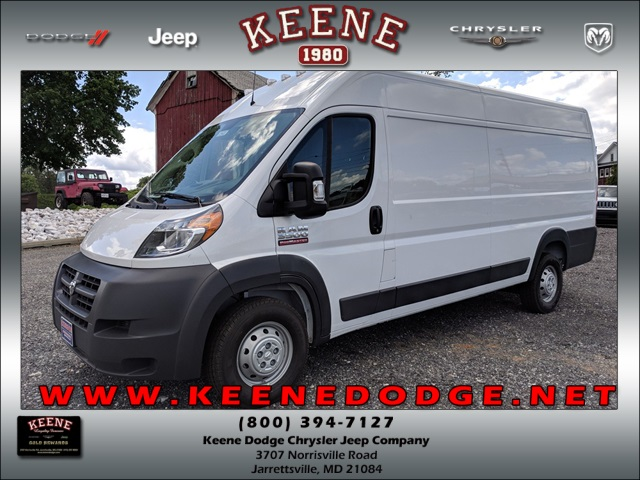 2018 ProMaster 3500 High Roof,  Empty Cargo Van #23422 - photo 1