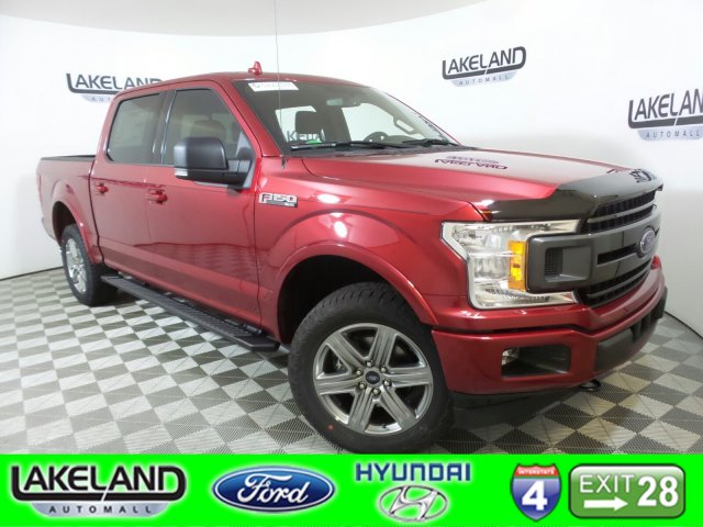 2018 F-150 SuperCrew Cab 4x4,  Pickup #18T1268 - photo 1