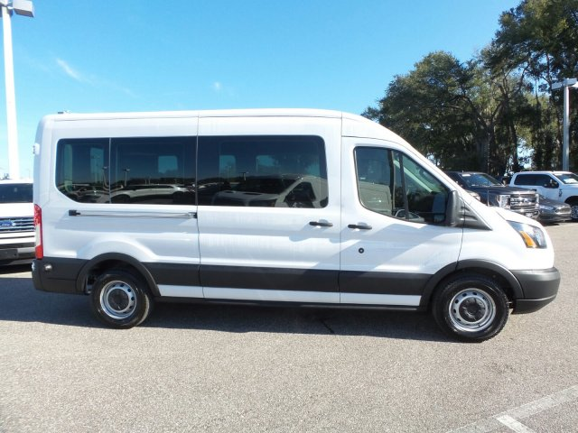 2019 Transit 350 Med Roof 4x2,  Passenger Wagon #19TD0276 - photo 4