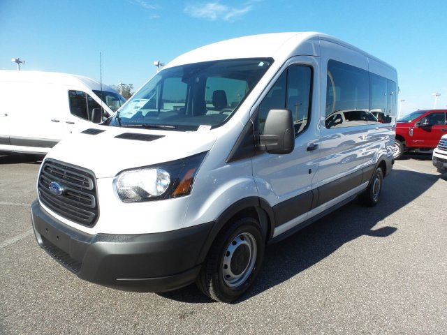 2019 Transit 350 Med Roof 4x2,  Passenger Wagon #19TD0276 - photo 7