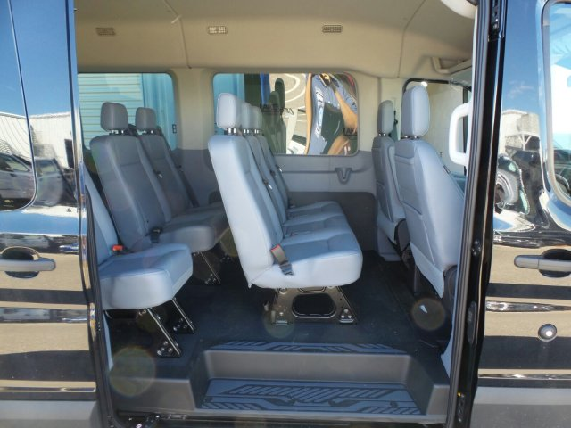 2019 Transit 350 Med Roof 4x2,  Passenger Wagon #4549F - photo 16