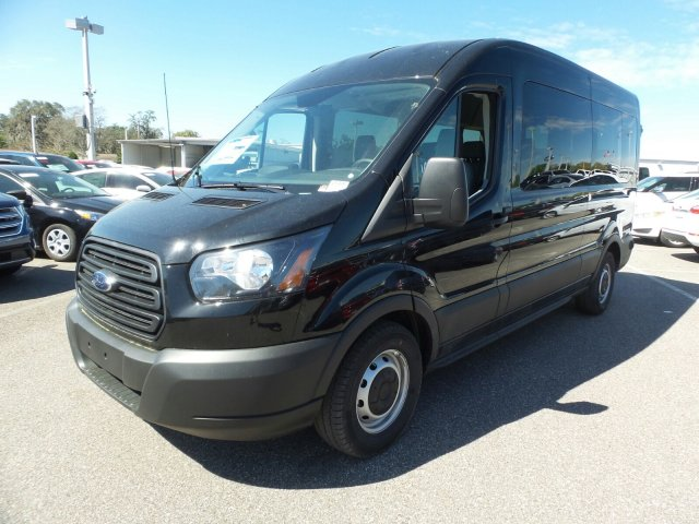 2019 Transit 350 Med Roof 4x2,  Passenger Wagon #4549F - photo 7