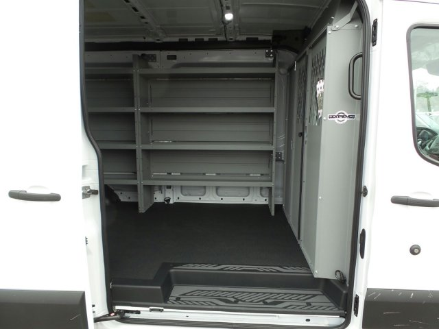 2019 Transit 250 Med Roof 4x2,  Kargo Master Upfitted Cargo Van #4555F - photo 18