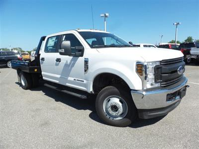 2019 F-350 Crew Cab DRW 4x4,  Hillsboro GII Steel Platform Body #4645F - photo 1