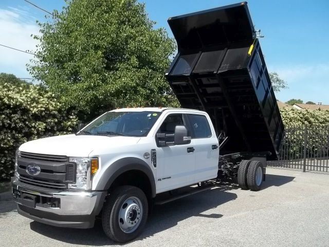 2017 F-450 Crew Cab DRW 4x4, Reading Landscape Dump #103344 - photo 3