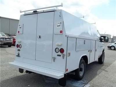 2017 E-350, Reading Aluminum CSV Service Utility Van #103348 - photo 4