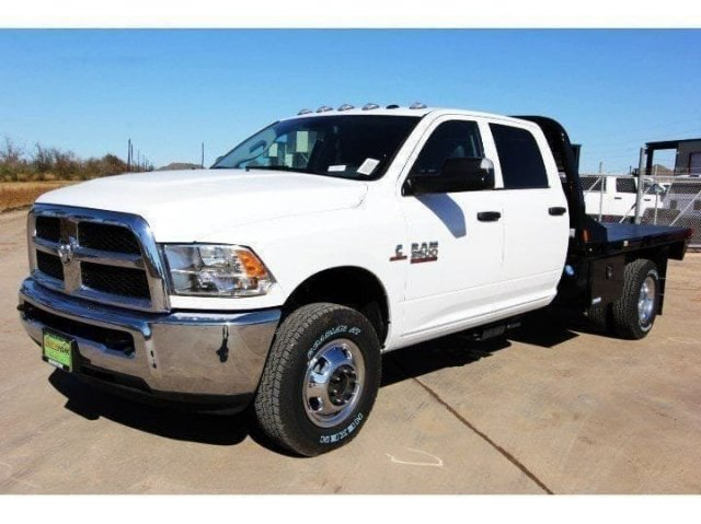 2018 Ram 3500 Crew Cab DRW 4x4,  CM Truck Beds Platform Body #JG295009 - photo 4