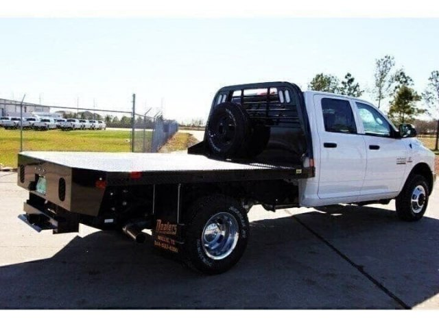 2018 Ram 3500 Crew Cab DRW 4x4,  CM Truck Beds Platform Body #JG295009 - photo 2