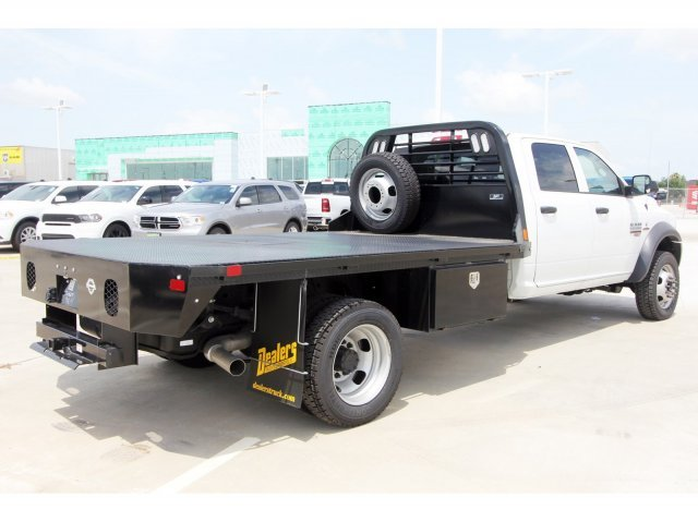 2018 Ram 5500 Crew Cab DRW 4x4,  CM Truck Beds Platform Body #JG317461 - photo 1