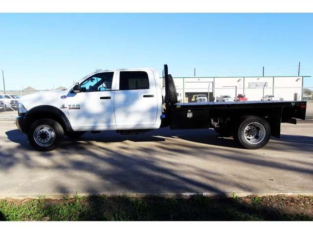 2018 Ram 4500 Crew Cab DRW 4x4,  Platform Body #JG320490 - photo 5