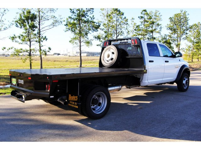 2018 Ram 4500 Crew Cab DRW 4x4,  Platform Body #JG320490 - photo 2