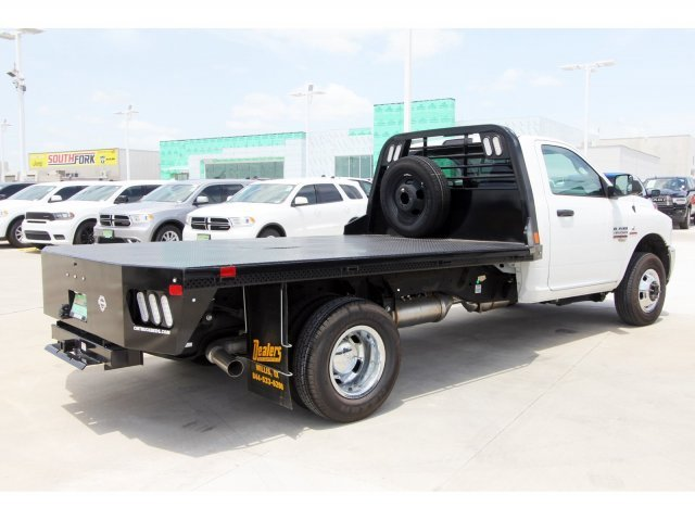 2018 Ram 3500 Regular Cab DRW 4x2,  CM Truck Beds Platform Body #JG325165 - photo 1