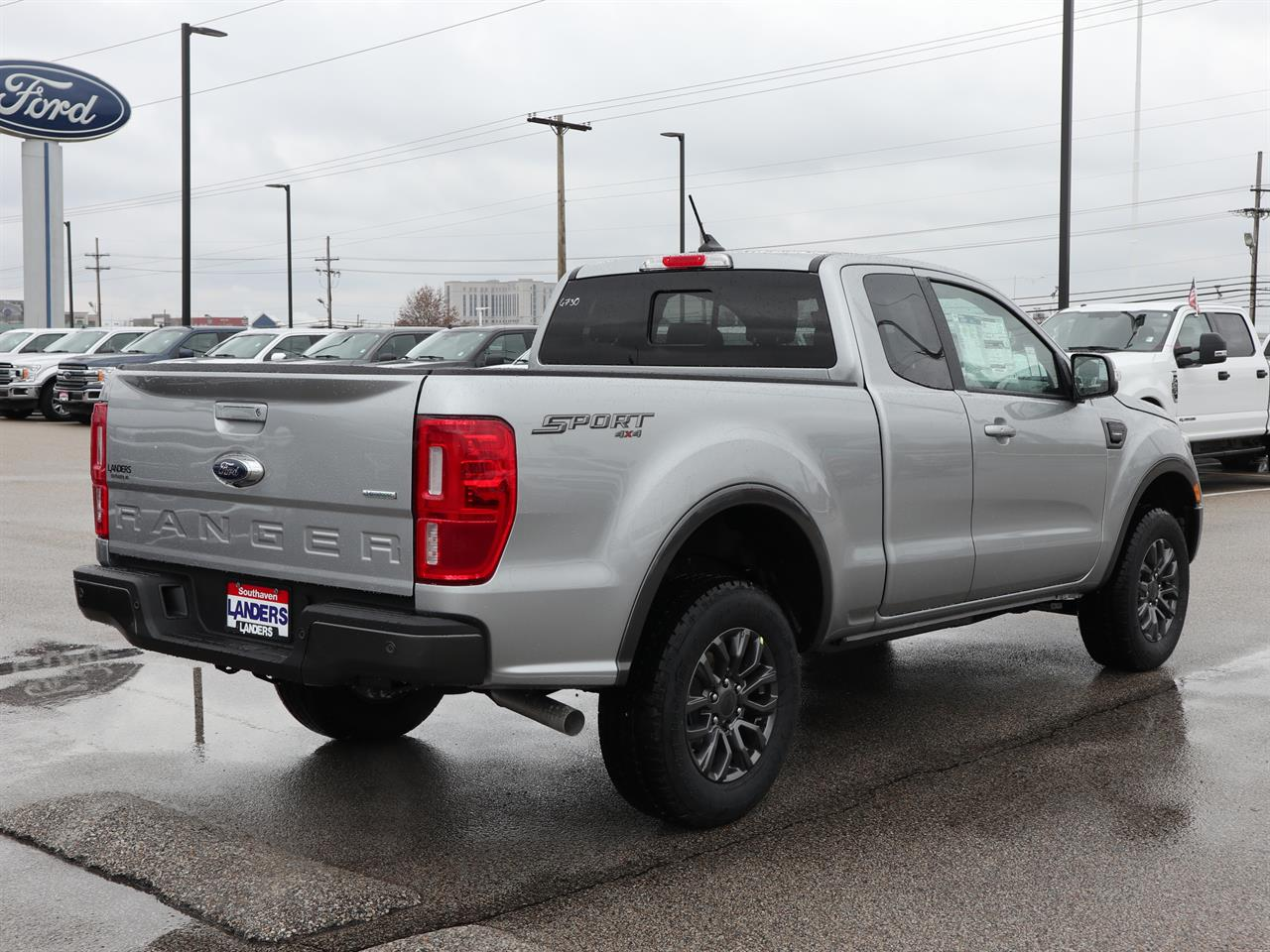 2020 Ford Ranger Super Cab 4x4, Pickup #20ST0937 - photo 1