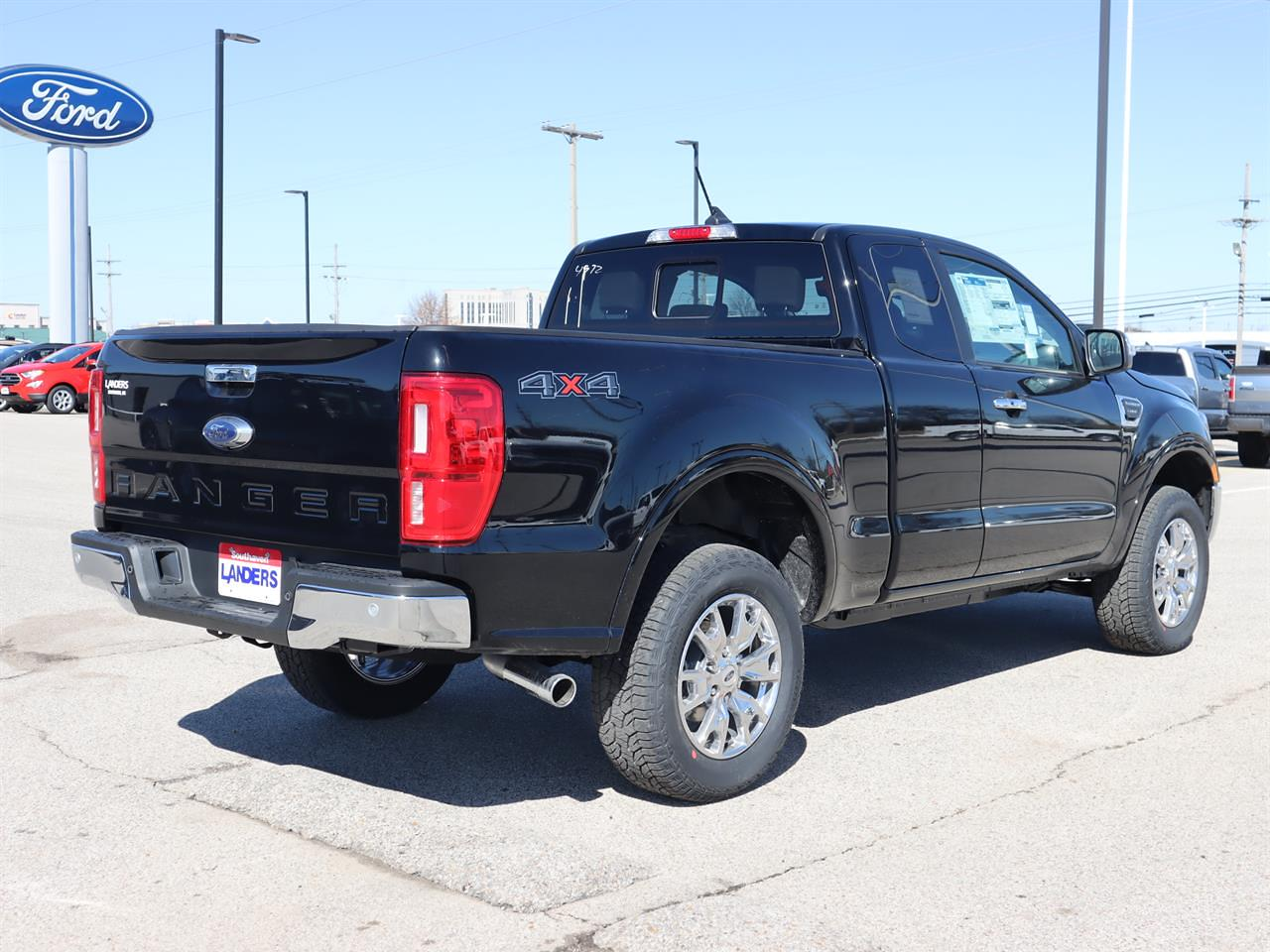 2021 Ford Ranger Super Cab 4x4, Pickup #21ST1580 - photo 1