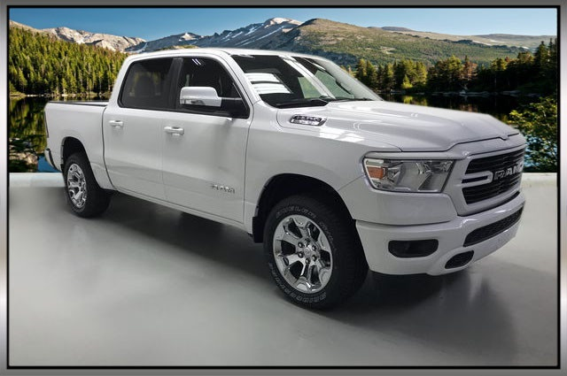 2019 Ram 1500 Crew Cab 4x4,  Pickup #KN587348 - photo 1