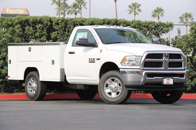 2018 Ram 3500 Regular Cab 4x2,  Harbor Service Body #T181212 - photo 3
