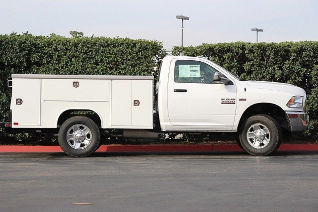 2018 Ram 3500 Regular Cab 4x2,  Harbor Service Body #T181212 - photo 6