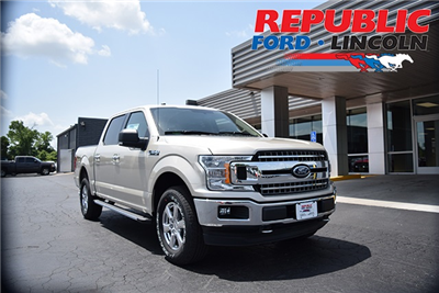 2018 F-150 SuperCrew Cab 4x4,  Pickup #JFD60727 - photo 1