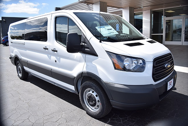 2018 Transit 350 Low Roof 4x2,  Passenger Wagon #JKA78861 - photo 6