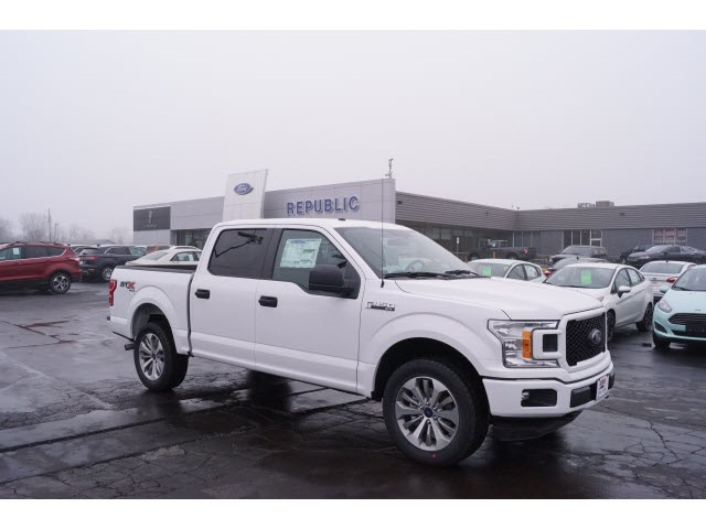 2018 F-150 SuperCrew Cab 4x4, Pickup #JKD19538 - photo 7