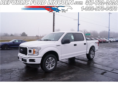 2018 F-150 SuperCrew Cab 4x4, Pickup #JKD19538 - photo 1