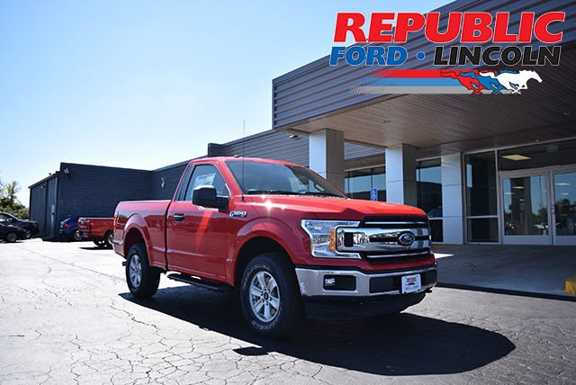 2018 F-150 Regular Cab 4x4,  Pickup #JKF56795 - photo 1