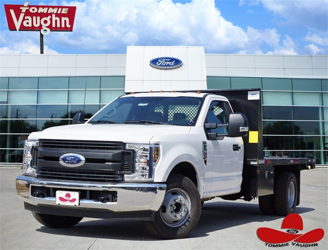2018 F-350 Regular Cab DRW 4x2,  Smyrna Truck Platform Body #JED03642 - photo 1