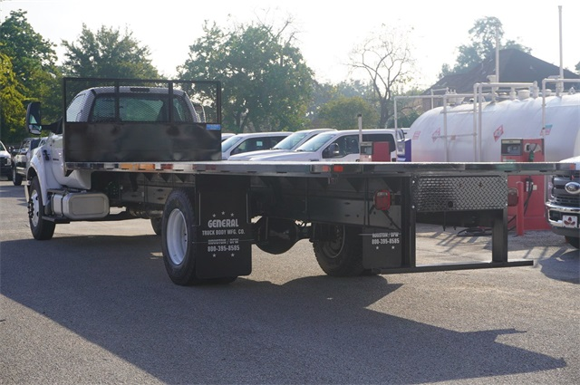 2019 Ford F-750 Regular Cab DRW 4x2, General Truck Body Platform Body #KDF03660 - photo 1