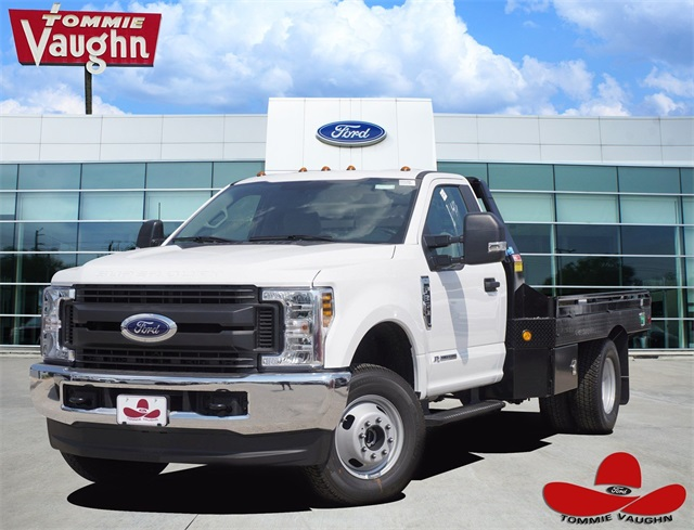 2019 F-350 Regular Cab DRW 4x4,  Platform Body #KEF61895 - photo 1