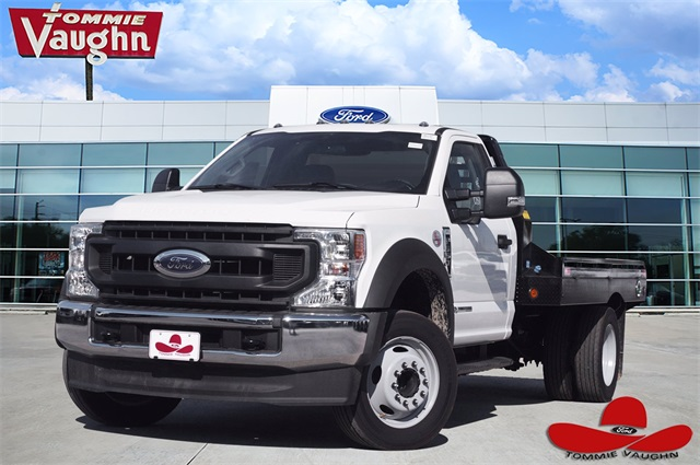 2020 Ford F-550 Regular Cab DRW 4x2, Hillsboro Platform Body #LDA01307 - photo 1