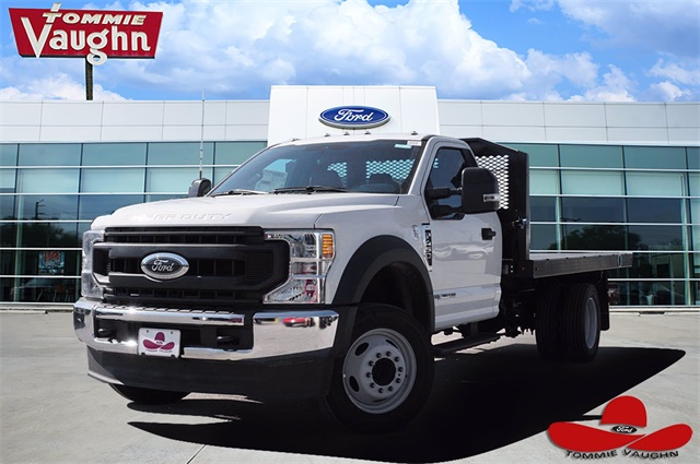 2020 Ford F-450 Regular Cab DRW 4x2, Monroe Platform Body #LDA04376 - photo 1