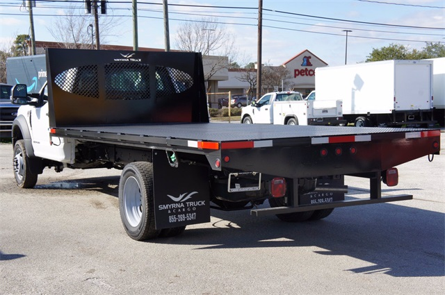 2020 Ford F-550 Regular Cab DRW 4x2, Smyrna Truck Platform Body #LDA14017 - photo 1