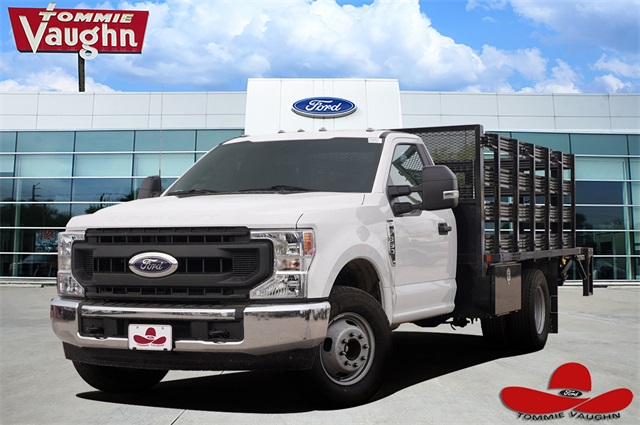 2020 Ford F-350 Regular Cab DRW 4x2, General Truck Body Stake Bed #LEC56510 - photo 1