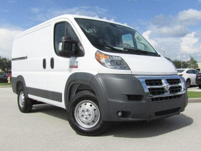 2018 ProMaster 1500 Standard Roof 4x2,  Empty Cargo Van #E102351 - photo 3