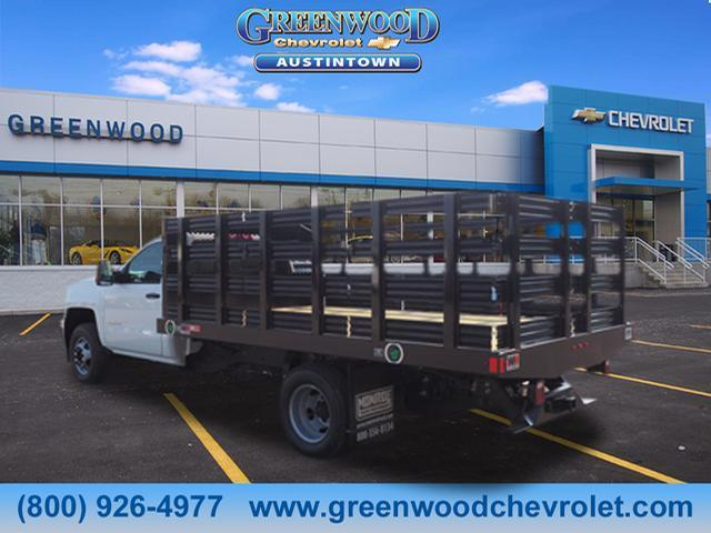2018 Silverado 3500 Regular Cab DRW 4x2,  Monroe Stake Bed #J36710 - photo 2