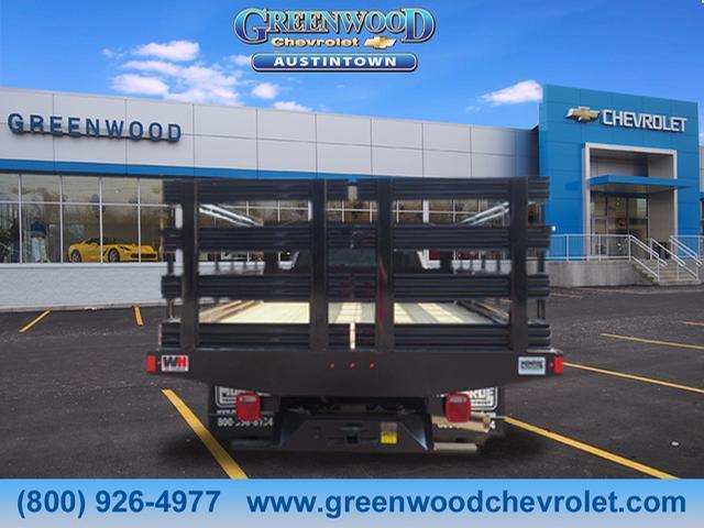 2018 Silverado 3500 Regular Cab DRW 4x2,  Monroe Stake Bed #J36710 - photo 4