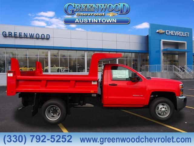 2019 Silverado 3500 Regular Cab DRW 4x4,  Rugby Dump Body #K55182 - photo 3