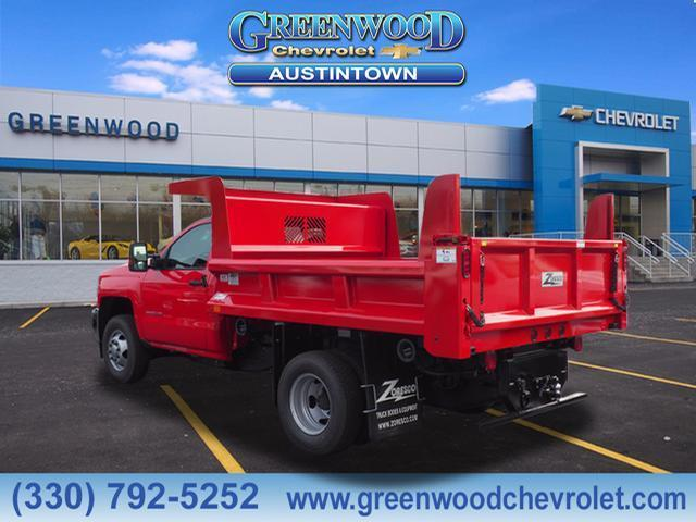 2019 Silverado 3500 Regular Cab DRW 4x4,  Rugby Dump Body #K55182 - photo 2