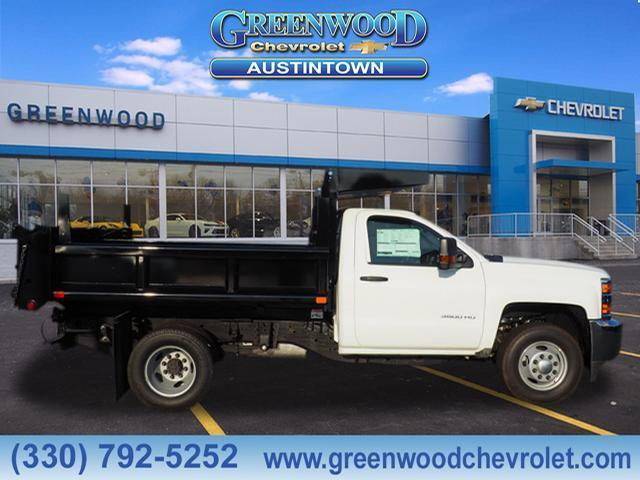 2019 Silverado 3500 Regular Cab DRW 4x4,  Air-Flo Dump Body #K55202 - photo 3