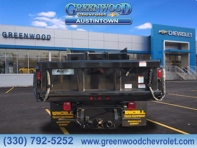 2019 Silverado 3500 Regular Cab DRW 4x4,  Air-Flo Dump Body #K55202 - photo 4