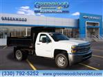 2019 Silverado 3500 Regular Cab DRW 4x4,  Air-Flo Dump Body #K55202 - photo 1