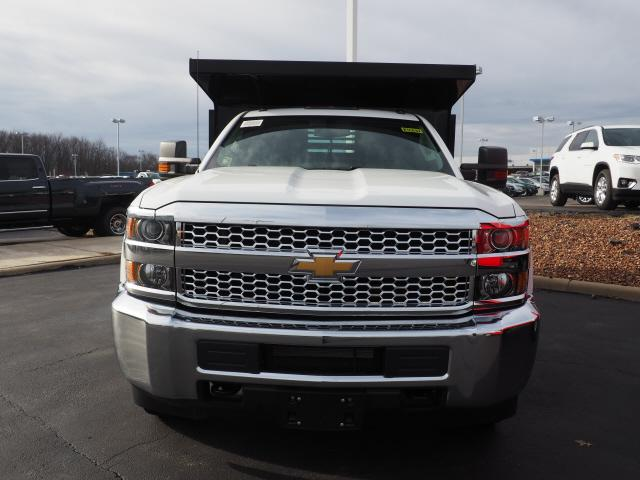 2019 Silverado 3500 Regular Cab DRW 4x4,  Air-Flo Dump Body #K55637 - photo 10