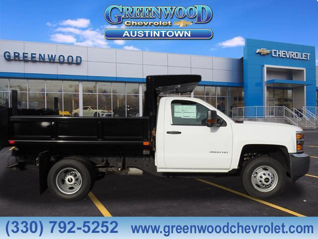 2019 Silverado 3500 Regular Cab DRW 4x4,  Air-Flo Dump Body #K55637 - photo 3