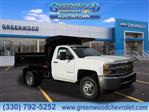 2019 Silverado 3500 Regular Cab DRW 4x4,  Air-Flo Dump Body #K55637 - photo 1