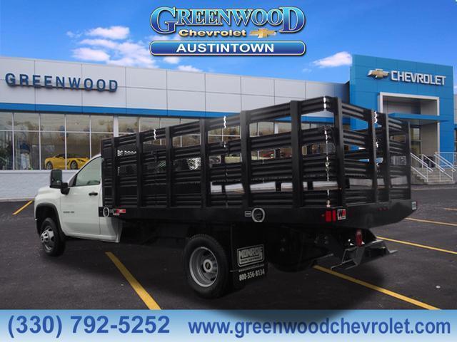 2020 Chevrolet Silverado 3500 Regular Cab DRW RWD, Stake Bed #L76672 - photo 1