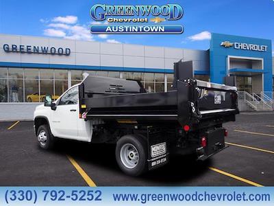 2021 Silverado 3500 Regular Cab 4x4,  Monroe Truck Equipment MTE-Zee Dump Body #M92298 - photo 2