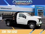 2021 Silverado 3500 Regular Cab 4x4,  Monroe Truck Equipment MTE-Zee Dump Body #M92298 - photo 1